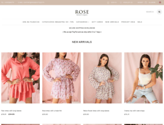 roseboutique.pl screenshot