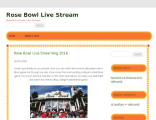 rosebowlliveespn.com screenshot