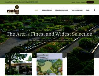 rosedalenurseries.com screenshot