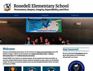 rosedell.saugususd.org screenshot