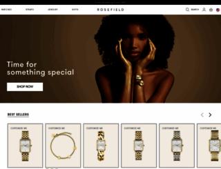 rosefieldwatches.com screenshot