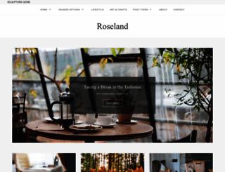 roseland.sculptureqode.com screenshot