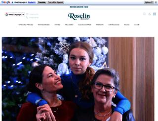 roselin.es screenshot