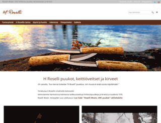 roselli.fi screenshot