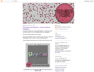 rosemadedesigns.blogspot.com screenshot
