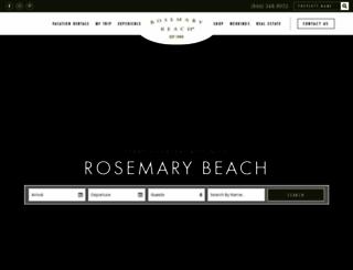 rosemarybeach.com screenshot