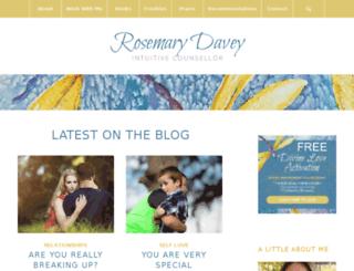 rosemarydavey.com screenshot