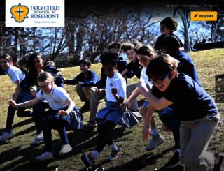 rosemontschool.org screenshot