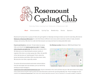 rosemountcycling.com screenshot
