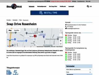 rosenholm-bilverksted.no screenshot