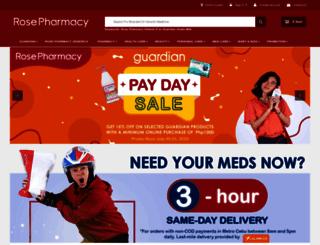 rosepharmacy.com screenshot