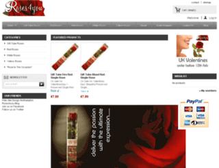 roses4you.co.uk screenshot
