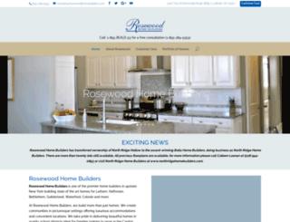 rosewoodhomebuilders.com screenshot