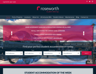 roseworth.co.uk screenshot