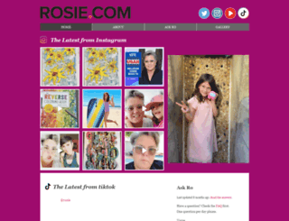 rosie.com screenshot