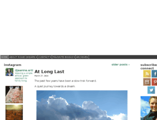 rosiegirldreams.com screenshot