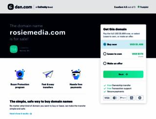 rosiemedia.com screenshot