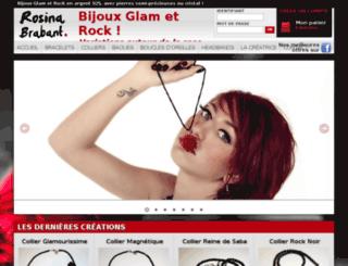 rosina-brabant-glam.com screenshot