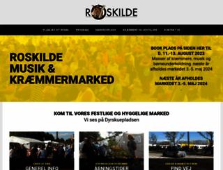roskildemarked.dk screenshot