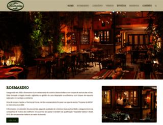 rosmarino.com.br screenshot