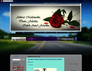 rosnizajusoh.blogspot.com screenshot