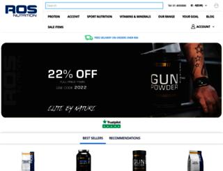 rosnutrition.com screenshot