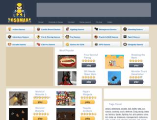 rosomaxa.com screenshot