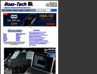 ross-tech.com screenshot