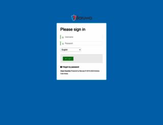 rossetti.vispa.com screenshot