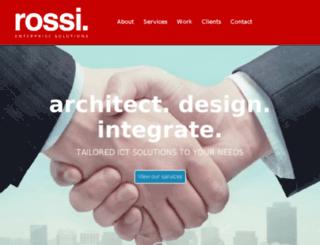 rossisolutions.com.au screenshot