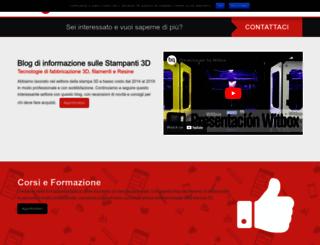 rosso3d.com screenshot
