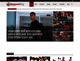 rossoneriblog.com screenshot
