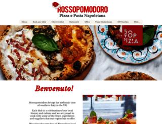 rossopomodoro.co.uk screenshot