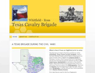 rosstexascavalrybrigade.com screenshot
