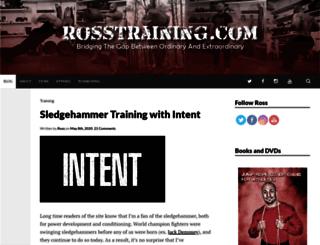 rosstraining.net screenshot