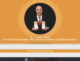 rosswebb.brandyourself.com screenshot