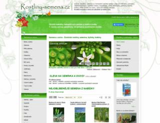 rostliny-semena.cz screenshot