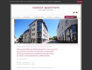 rostock-apartment.de screenshot