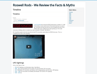 roswellrods.com screenshot