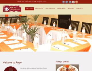 rosyo.com.np screenshot