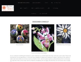 rosytoesdesigns.com screenshot