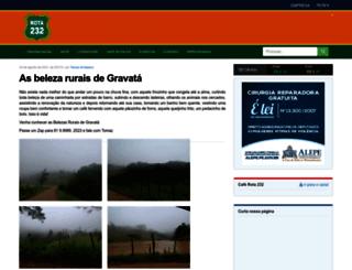 rota232.com.br screenshot