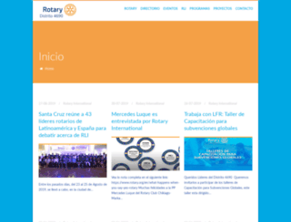 rotary4690.org screenshot