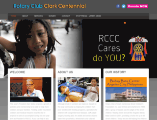 rotaryclubclarkcentennial.org screenshot
