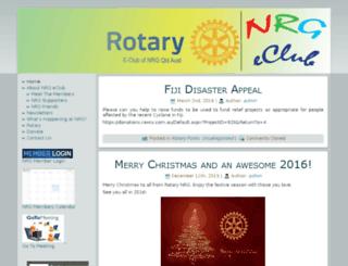 rotaryeclubnrg.org screenshot