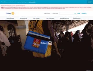 rotaryindia.net screenshot