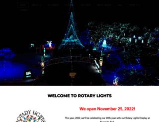rotarylights.org screenshot