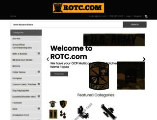 rotc.com screenshot