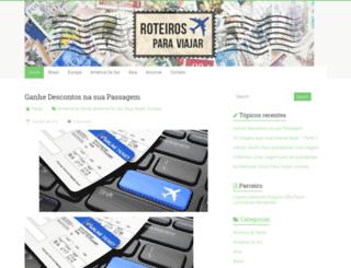 roteirosparaviajar.com.br screenshot