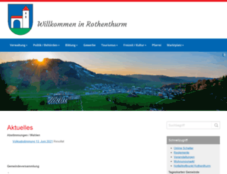 rothenthurm.ch screenshot